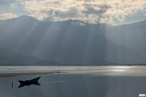 Good morning Vietnam - the boat by Rikitza