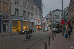 Antwerp view by Rikitza