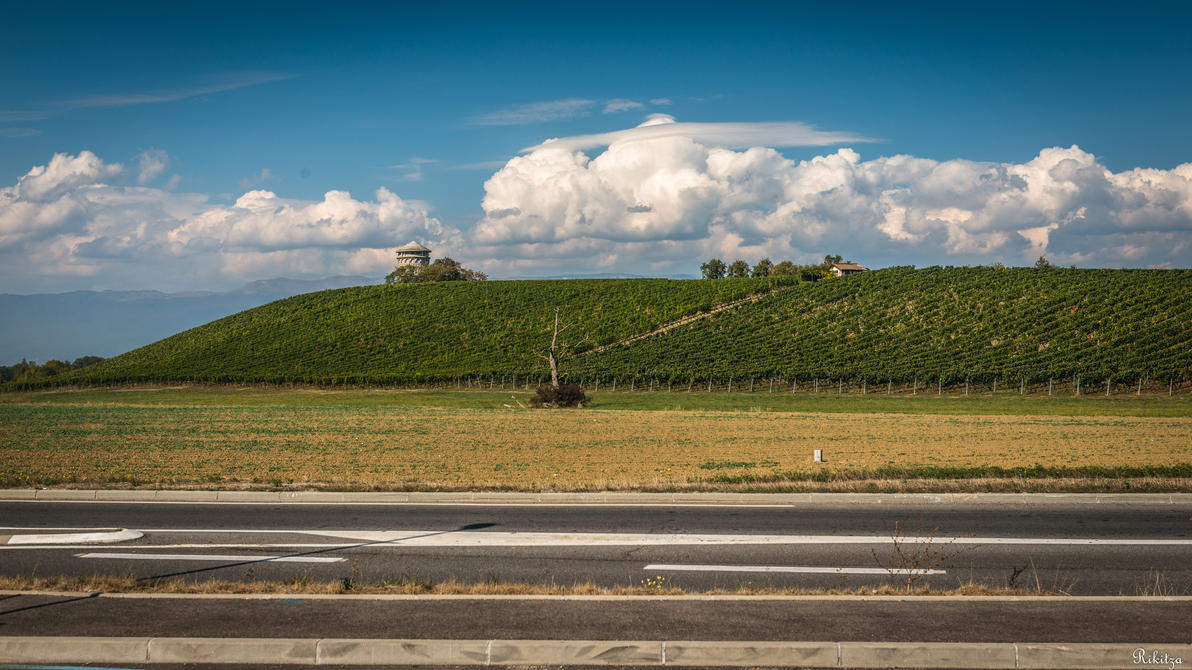 on our way in France by Rikitza