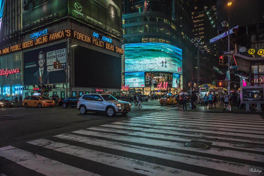 NYC - one more night in Manhattan by Rikitza