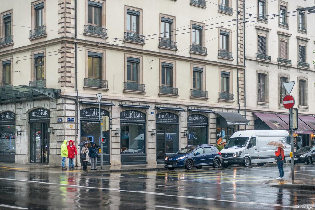 Geneva I love - a rainy corner by Rikitza