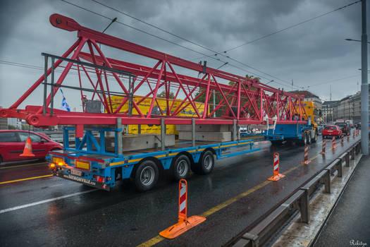 Geneva I love - colors on the bridge