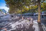 Geneva I love - bikes and shadows in Carouge