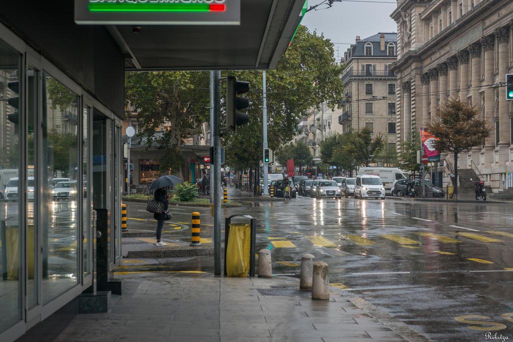 Geneva I love - rainy morning by Rikitza