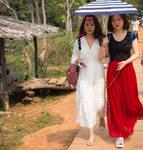 Khmer imperium - umbrella for two by Rikitza