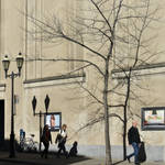 shadows in Montreal by Rikitza