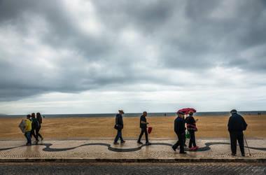 sweet Portugal - walk at sea shore by Rikitza