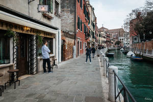 fascinating Venice - photo session along the canal by Rikitza