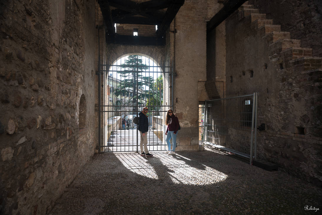 imprisoned in Rocca Scaligera by Rikitza