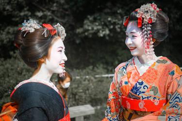 land of rising sun - dialogue in Kyoto by Rikitza