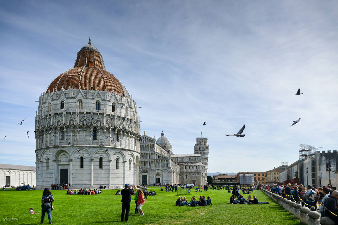 Pisa - another view by Rikitza