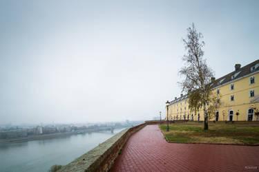 heroic Serbia - the Danube at Novisad by Rikitza