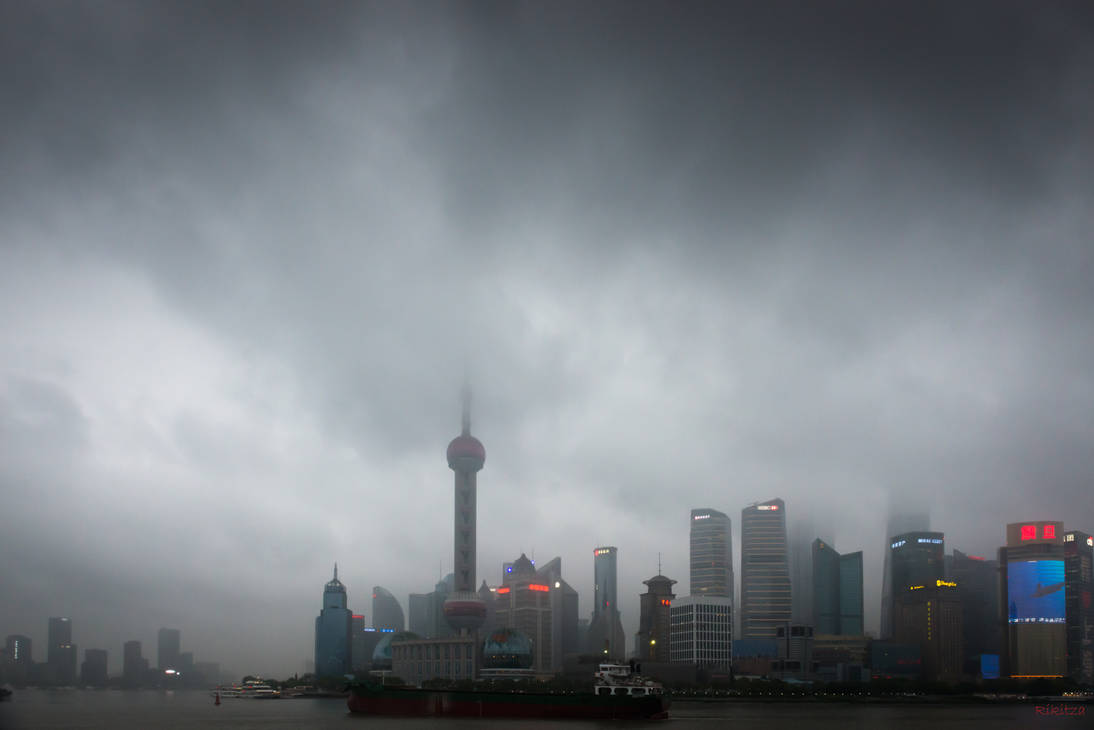 Surprising China - view from the Bund by Rikitza