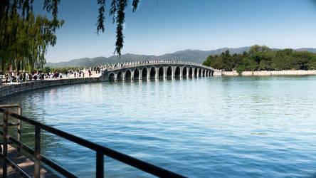 surprising China - bridge at the Summer Palace by Rikitza