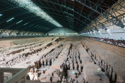 surprising China - Warrior visiting warriors