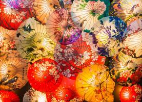 surprising China - Beijing umbrellas by Rikitza