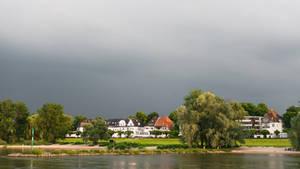 along the Rhein - on the bank by Rikitza