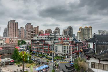 surprising China - Shanghai sky by Rikitza