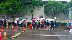 surprising China - local tourists by Rikitza