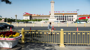 surprising China - Tiananmen square another view