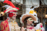fascinating Venice -smiling masks at the Carnival