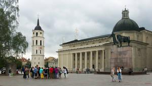 scene in Vilnius