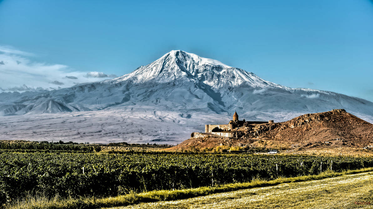 on our way to Noah and Ararat by Rikitza