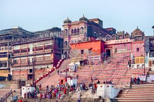 incredible India - purifying yourself at Varanasi