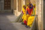 Incredible India - women in yellow by Rikitza