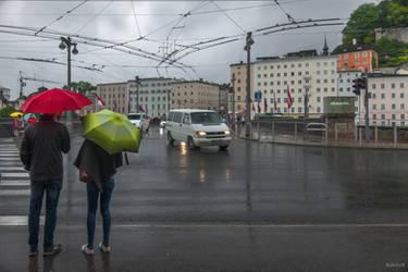 It rains in Salzburg by Rikitza
