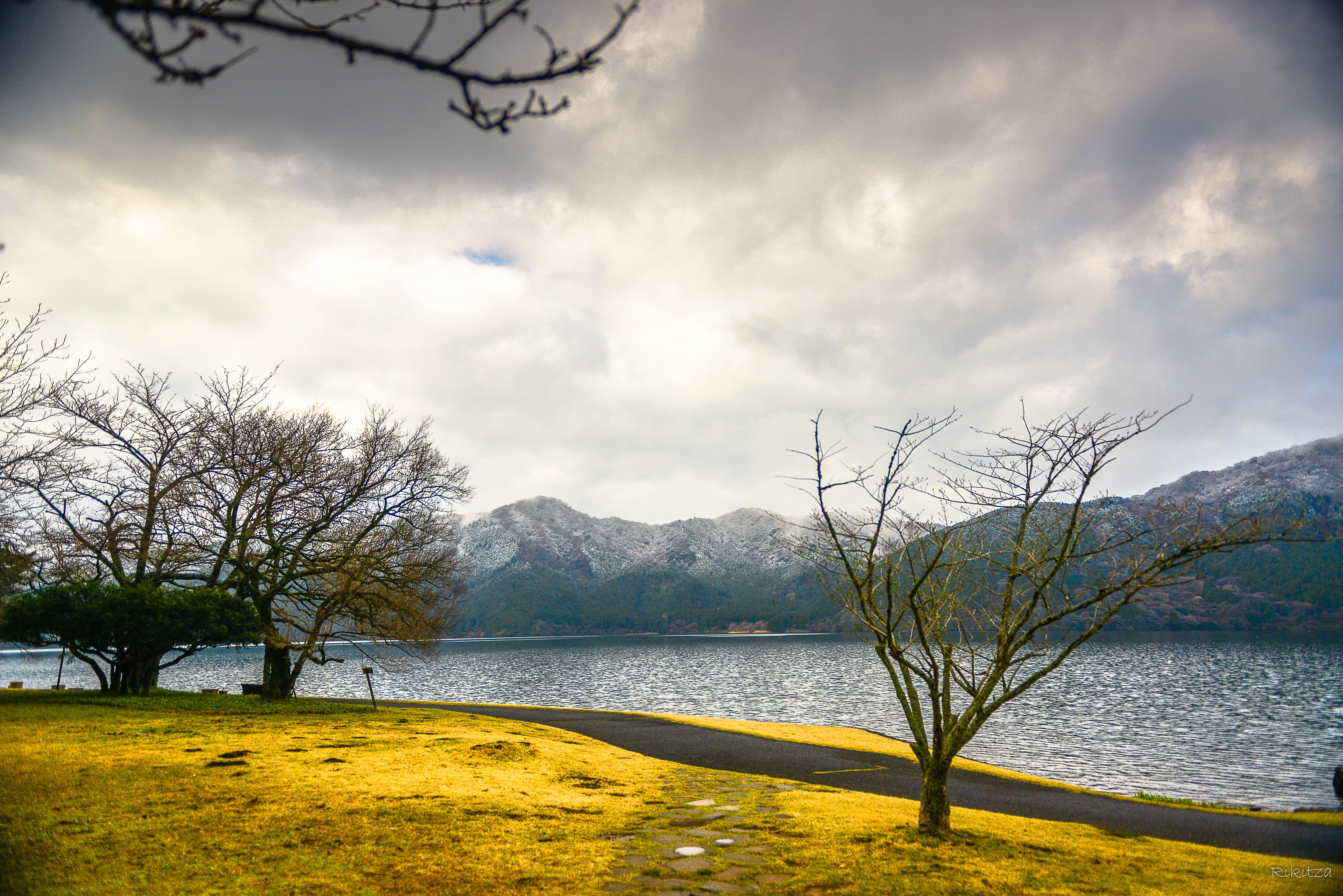 at the Hakone lake - once more