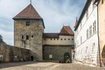 Castle walls in Annecy