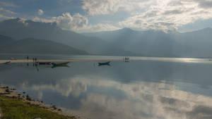 Sun Rays At The Lake