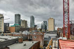 view from the Museum in Montreal