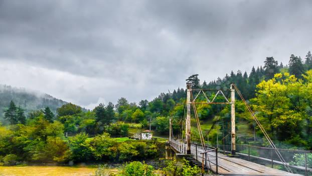 over the bridge in Georgia