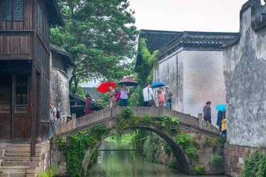 surprising China - the bridge in Wuzhan