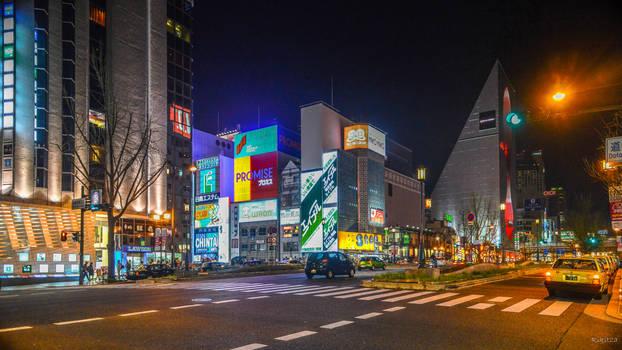 Osaka - instance in the night