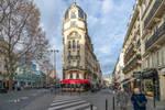 morning walk on Paris streets