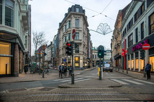 Antwerp before Christmas