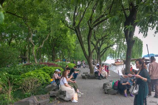 surprising China - Saturday at the West Lake