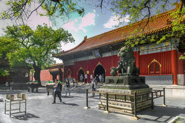 Surprising China - in front of the shrine