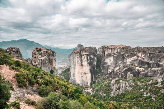 a different view at  Meteora