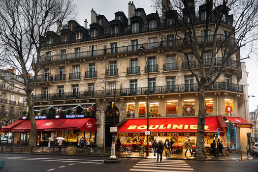 Paris - evening in Quartier Latin