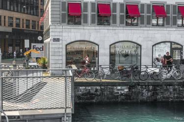 instance at the dock in Geneva by Rikitza