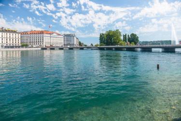 one morning this week at Geneva by Rikitza
