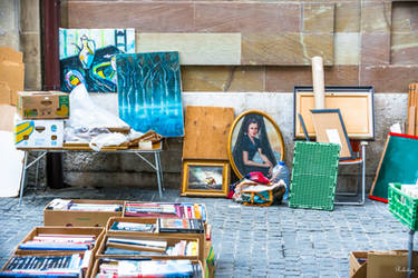 art on the street in Geneva by Rikitza