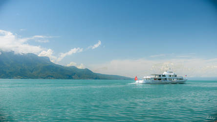 On Board The Ship On The Lake by Rikitza