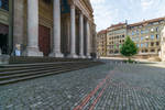 Old Buildings And Columns by Rikitza