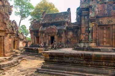 Khmer imperium - vestiges in Angkor