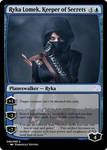Ryka Lomek Keeper of Secrets by MTGEmperor